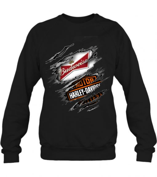 Budweiser Harley Davidson sweatshirt
