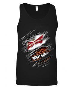 Budweiser Harley Davidson tank top