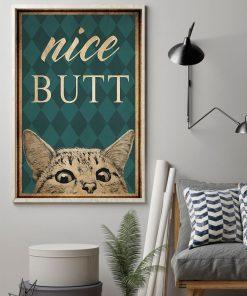 Cat Nice Butt poster1