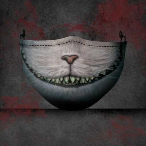 Cheshire Cat Alice's Adventures in Wonderland 3D face mask