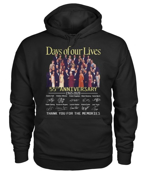 Days of our lives 55th anniversary 1965-2020 hoodie