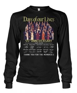 Days of our lives 55th anniversary 1965-2020 long sleeve