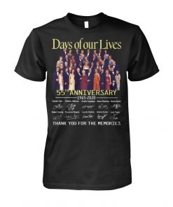 Days of our lives 55th anniversary 1965-2020 shirt