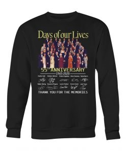 Days of our lives 55th anniversary 1965-2020 sweatshirt