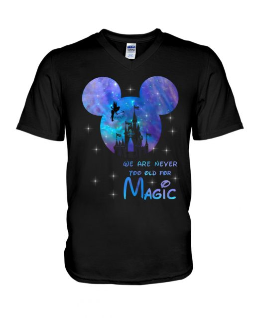 Disney We are never too old for magic v-neck