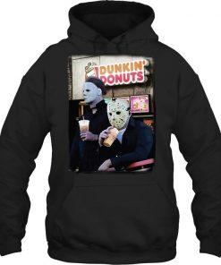 Dunkin' Donuts Jason Voorhees - Michael Myers Hoodie