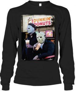 Dunkin' Donuts Jason Voorhees - Michael Myers Long sleeve