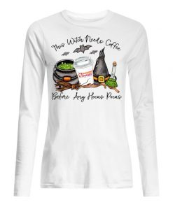 Dunkin' Donuts This witch needs coffee before any Hocus Pocus Long sleeve