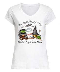 Dunkin' Donuts This witch needs coffee before any Hocus Pocus V-neck