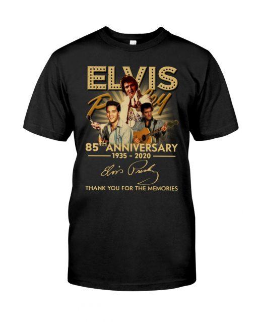 Elvis Presley 85th Anniversary 1935-2020 T-shirt