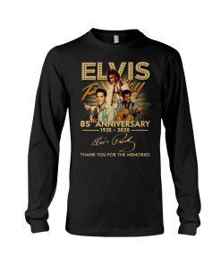 Elvis Presley 85th Anniversary 1935-2020 long sleeve