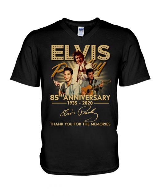 Elvis Presley 85th Anniversary 1935-2020 v-neck