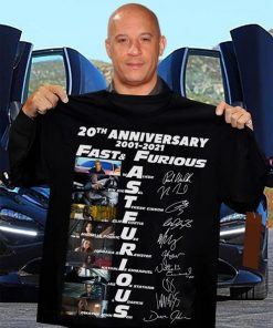 Fast and Furious 20th Anniversary 2001-2021 shirt