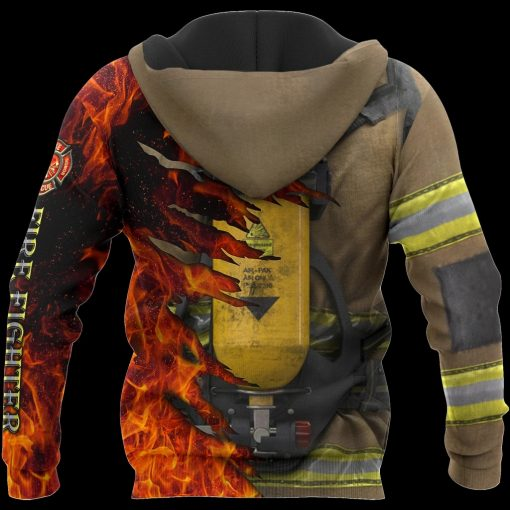 Firefighter 3D All Over Printed Hoodie5
