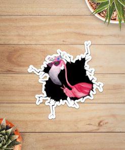 Flamingo Crack Sticker2