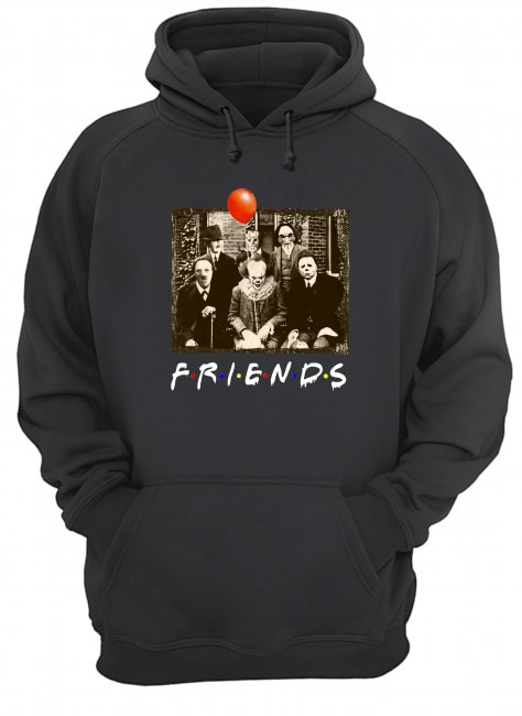 Friends horror film characters Hoodie