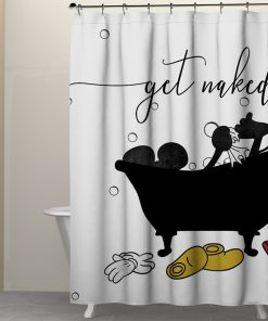 Get naked Mickey Mouse Shower Curtains2