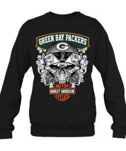 Green Bay Packers Harley Davidson sweatshirt