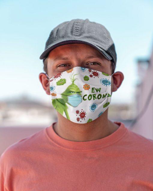 Grinch Ew Corona face mask3