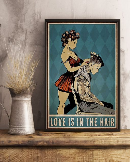 Hairdresser Love Is In The Hair poster 1