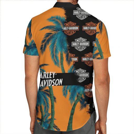 Harley-Davidson Motor Hawaiian shirt 1