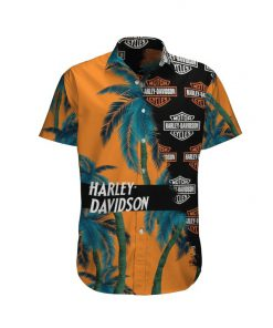 Harley-Davidson Motor Hawaiian shirt 4