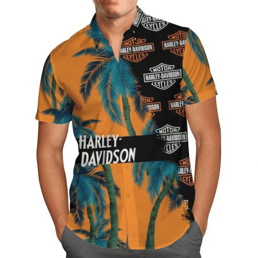 Harley-Davidson Motor Hawaiian shirt