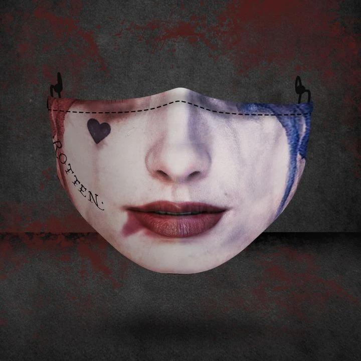 Harley Quinn 3D face mask