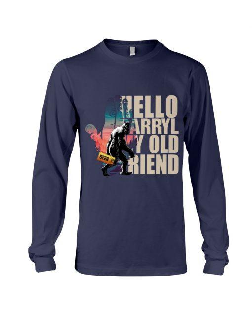 Hello Darryl my old friends long sleeve