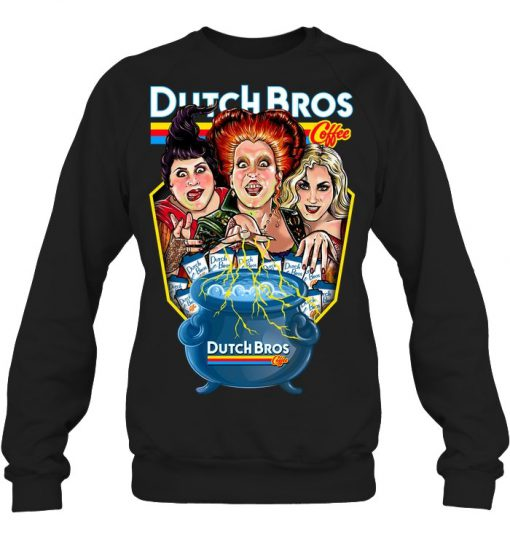 Hocus Pocus Dutch Bros. Coffee Sweatshirt