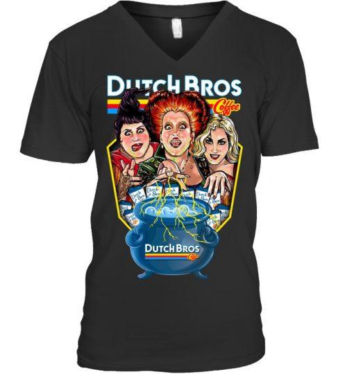 Hocus Pocus Dutch Bros. Coffee v-neck