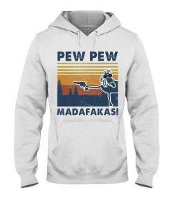 Horse Pew Pew Madafakas Hoodie