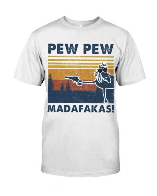 Horse Pew Pew Madafakas T-shirt