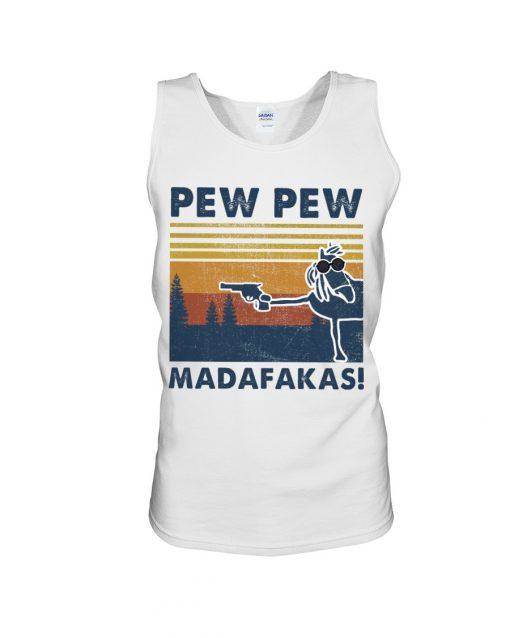 Horse Pew Pew Madafakas tank top