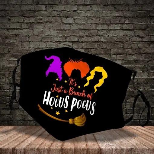 It's a bunch of Hocus Pocus face mask 1