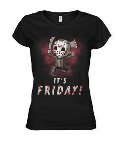 It's friday Jason Voorhees v-neck