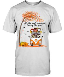 It's the most wonderful time of the year Halloween Horror Movie Characters T-shirt