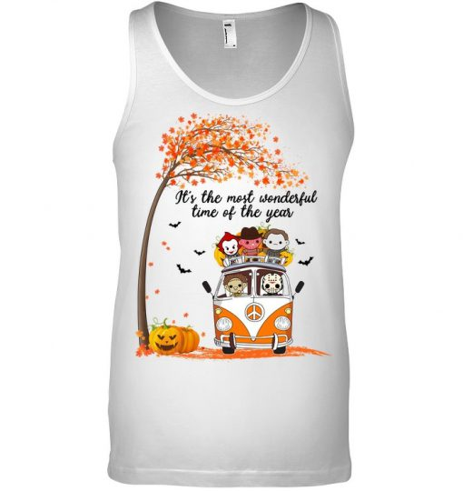 It's the most wonderful time of the year Halloween Horror Movie Characters tank top