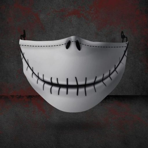 Jack Skellington 3D face mask