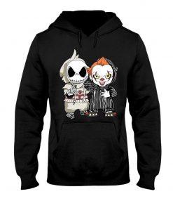 Jack Skellington IT Pennywise hoodie