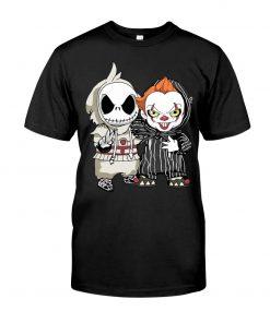 Jack Skellington IT Pennywise shirt