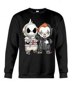 Jack Skellington IT Pennywise sweatshirt