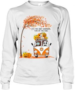 Jack Skellington and Sally It's the most wonderful time of the year VW Volkswagen Bus Hippie Peace Long sleeve