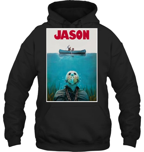 Jason Voorhees Friday The 13th Jaws hoodie