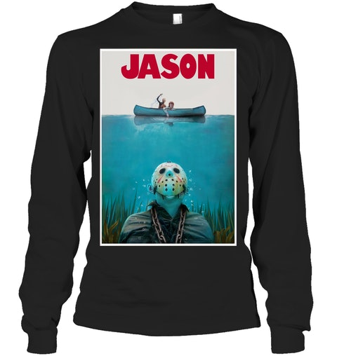 Jason Voorhees Friday The 13th Jaws long sleeve