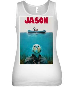 Jason Voorhees Friday The 13th Jaws tank top