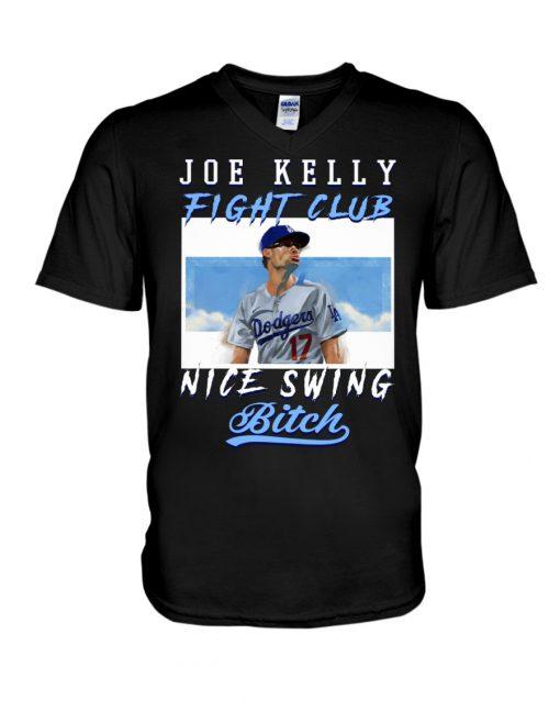 Joe Kelly Fight club nice swing bitch V-neck