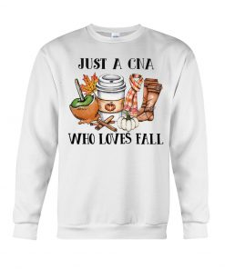Just a CNA who loves fall Sweatshirt