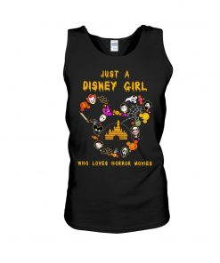 Just a Disney girl who loves horror movies tank top
