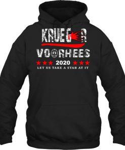 Krueger Voorhees 2020 Let us take a stab at it Hoodie